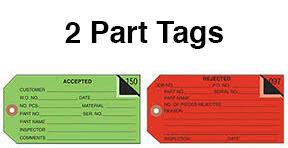 2 Part Tags