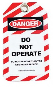 Specialty Tag - Danger Tag